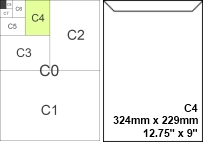 letter size mail dimensional standards template - envelope sizes